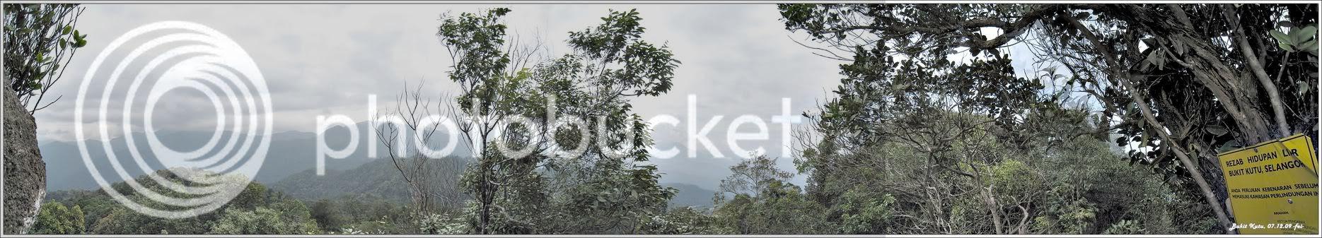 Bukit Kutu Panorama Lower Point of View