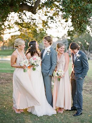 Enchanting Spring Wedding - Real Weddings - Once Wed