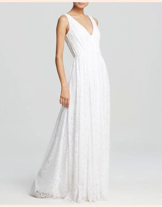 45 Wedding Dresses Under 500 Vera Wang Deep V-Neck Lace Gown Budget Affordable Inexpensive photo 45-Wedding-Dresses-Under-500-Vera-Wang-Deep-V-Neck-Lace-Gown-Budget-Affordable.jpg