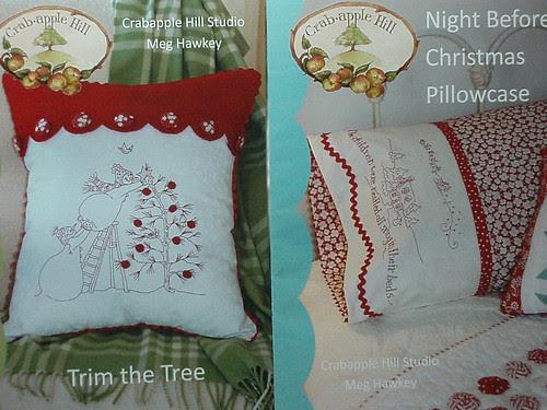 2 pillow patterns