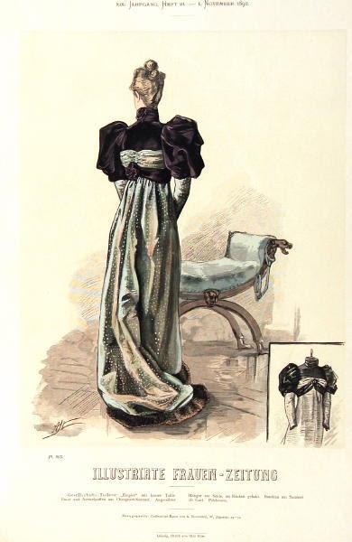 Illustrirte Frauen-Zeitung, November 1892