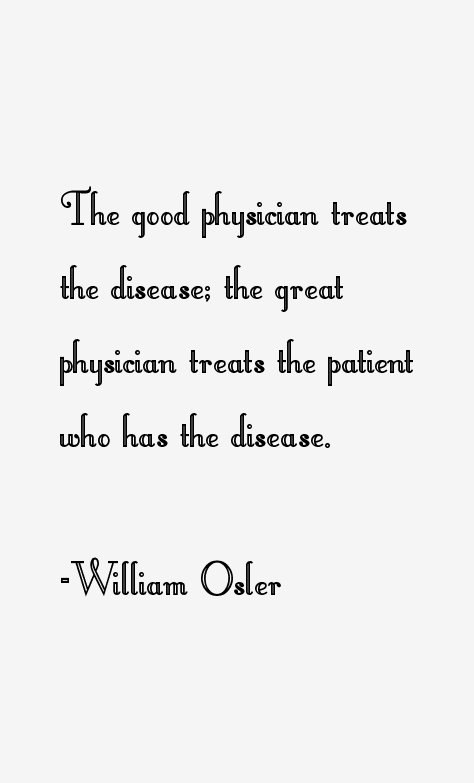 Image result for William Osler Quotes