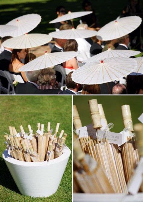 Seven Summer Wedding Items to Keep Your Guests Cool and