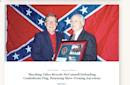 Decades-old photo of Kentucky Sen. Mitch McConnell and a Confederate flag lives on and on