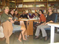 Aula de Conversa de la Biblioteca Enric Valor IEC