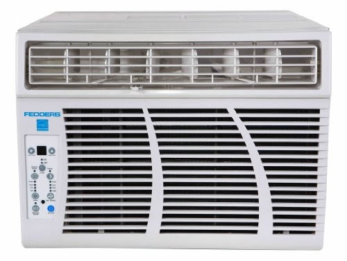 Cheapest fedders azey12f7b white 10200 12000 btu 9 8 eer for 12000 btu window air conditioner room size