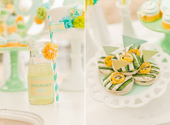 Blue Yellow Gender Neutral Baby Shower Ideas Baby Showers 100