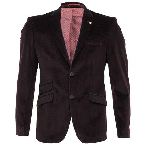 Mens Suede Blazer Dinner Coat Suit Jacket Formal Wedding