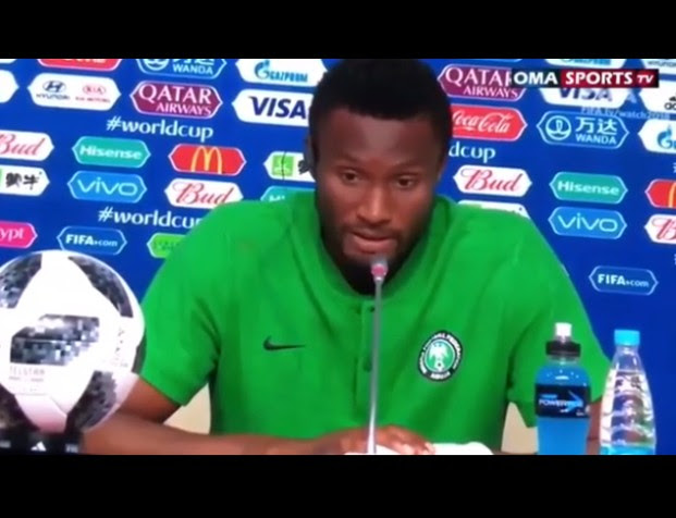 Mikel Obi Says He's Surprised The Referee Refused To Award Them A Penalty