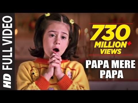 चंदा ने पूछा तारों से || Papa Mere Papa Lyrics in Hindi/English ||