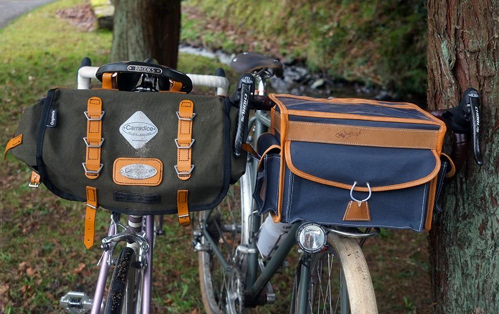 Cycling Bicycle Handlebar Bar Basket Front Bag Bikes Bag With Reflective strip