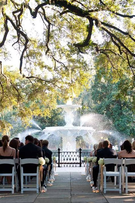 Forsythe Park Savannah Georgia wedding venue   Wedding