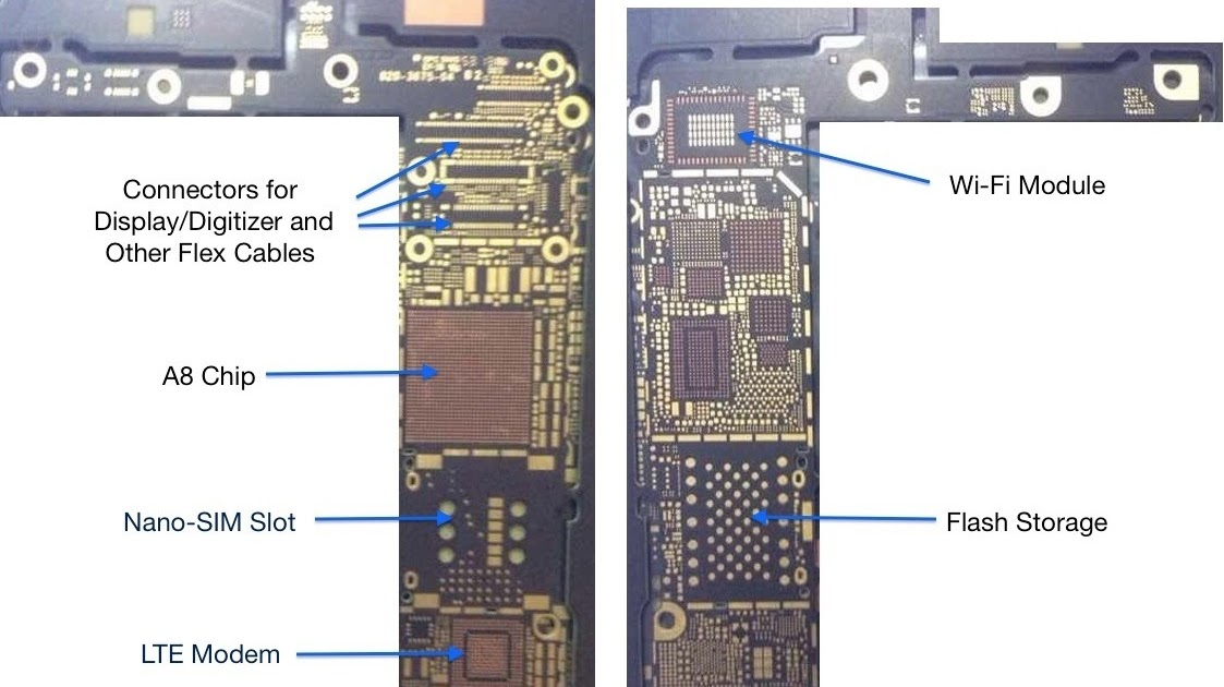 19 Iphone 6 Logic Board Schematics