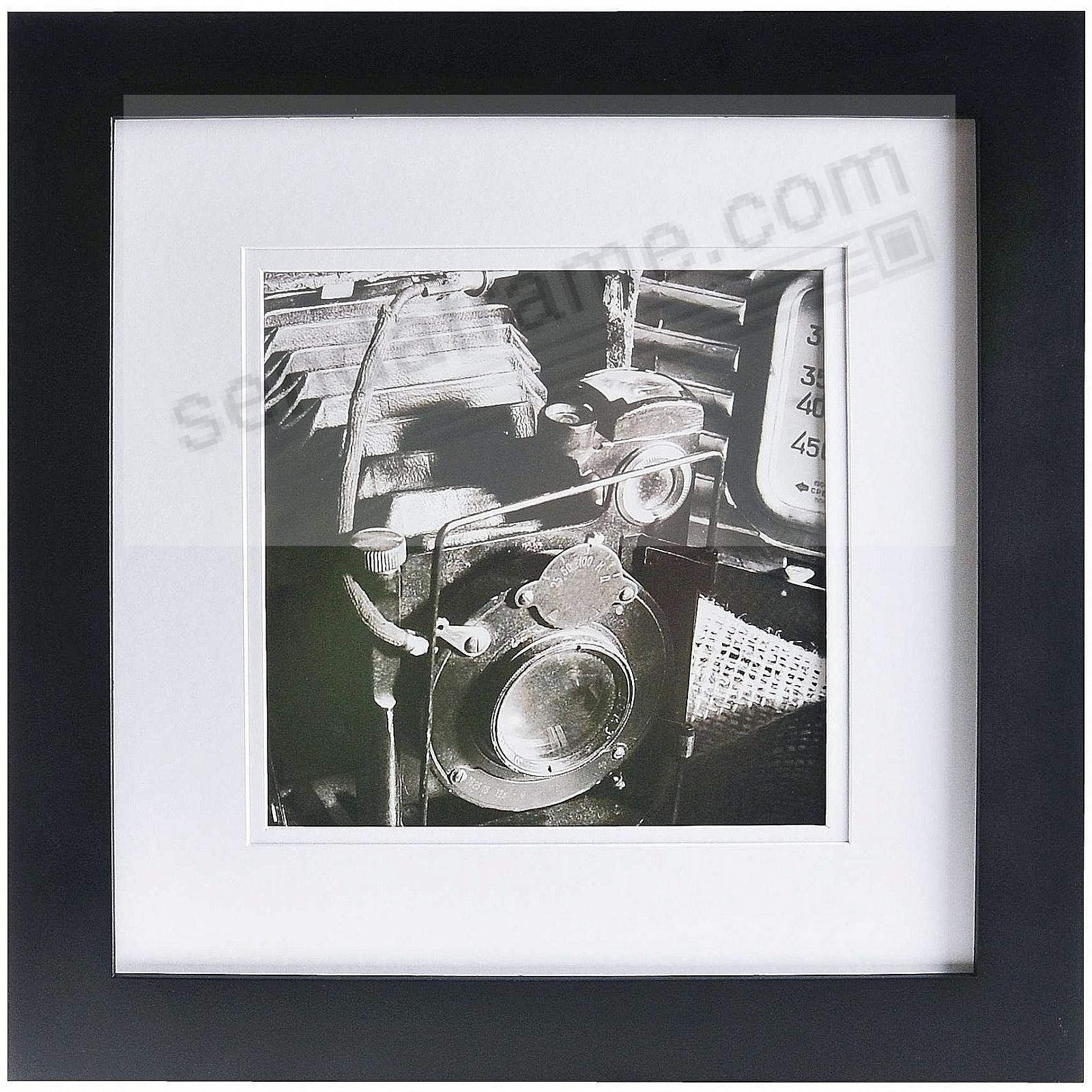 Black Wood Wall Frame 12x128x8 Matted By Gallery Solutions