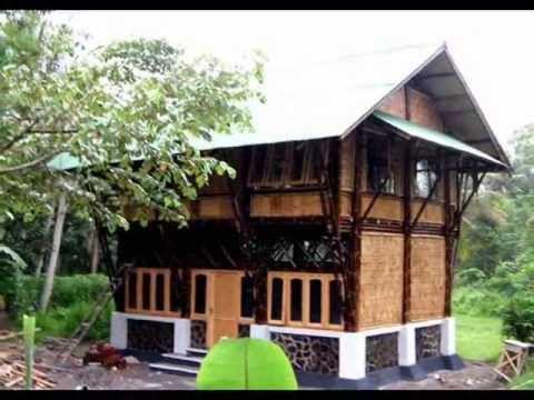 Kumpulan Gambar Rumah Bambu Modern Minimalis