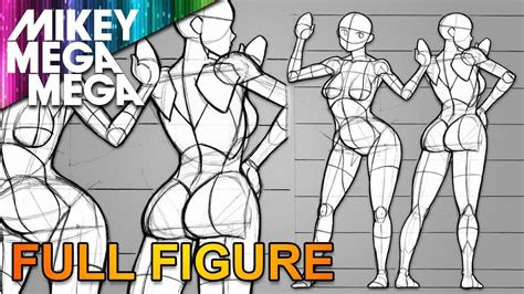 drawing full body proportions  women  anime manga