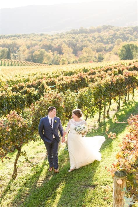 A Veritas Vineyard & Winery Wedding in Charlottesville