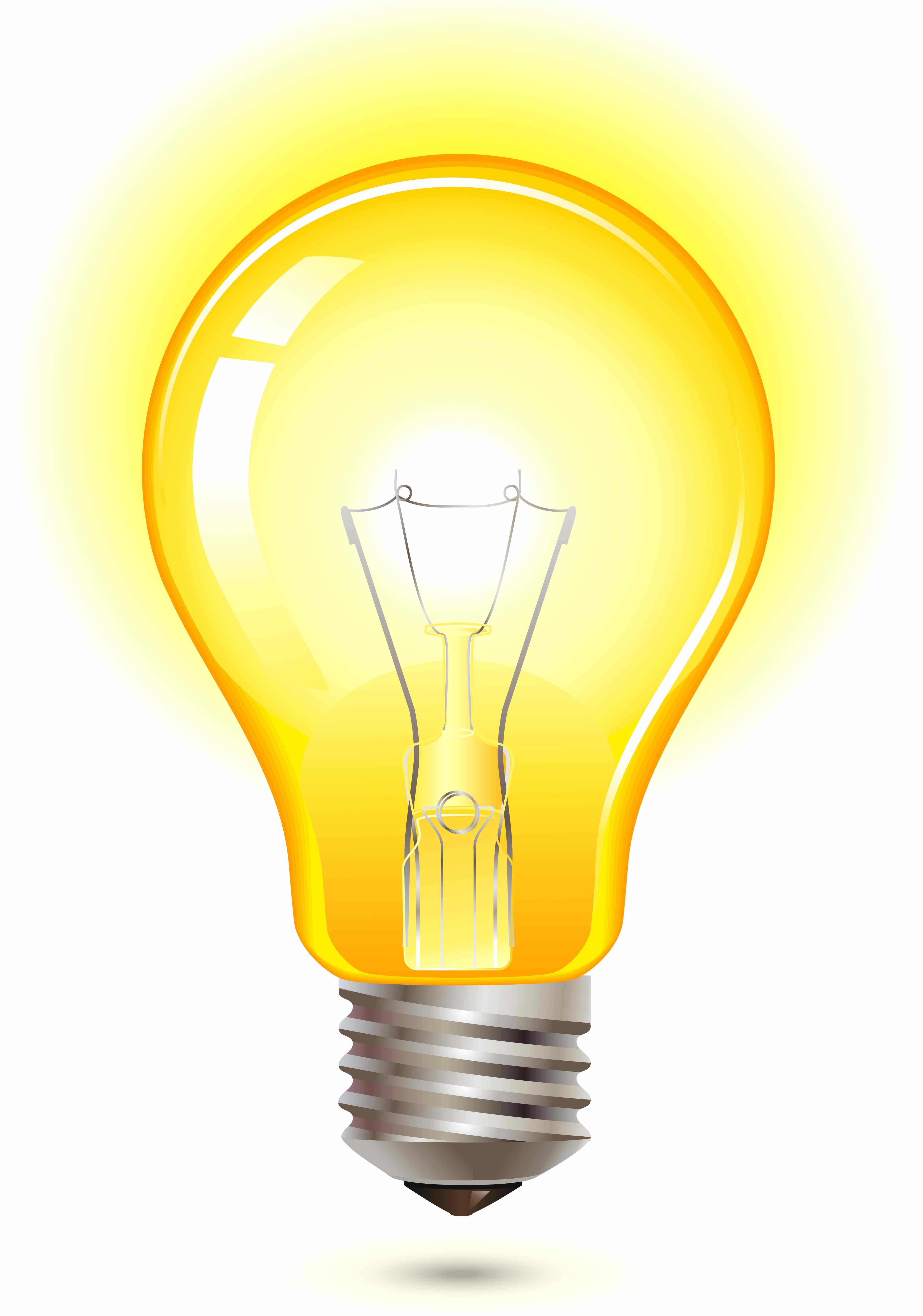 Yellow Light Bulb City Of Woodbine
