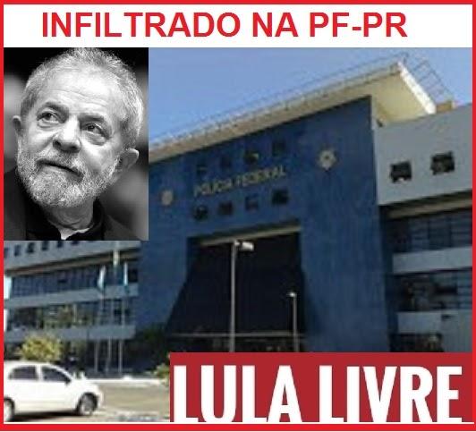 "721f0968db Política desmistificada  Lula descobre ""infiltrado"" na PF-PR"