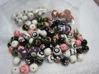 handmade clay beads