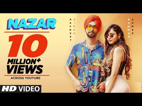 नज़र Nazar Song Lyrics in Hindi - Ravneet Singh