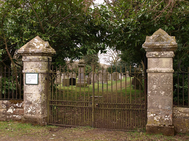 Cemetery Gates Near Falstone Wfmillar Cc By Sa 2 0