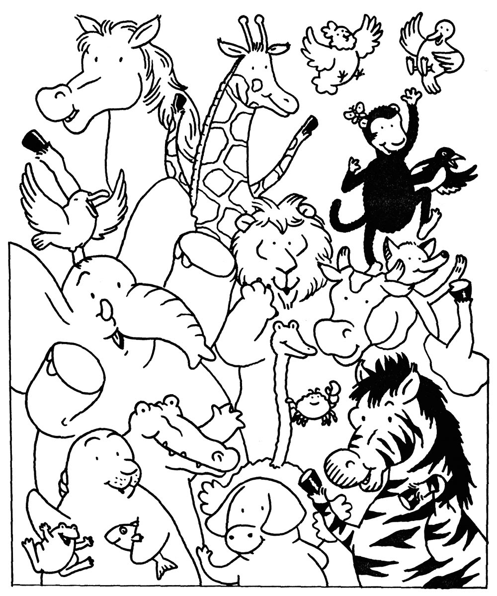 free imprimer le coloriage animaux numro with les coloriage