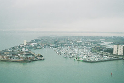 Gosport from Spinnaker Tower