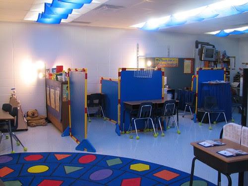 my empty classroom