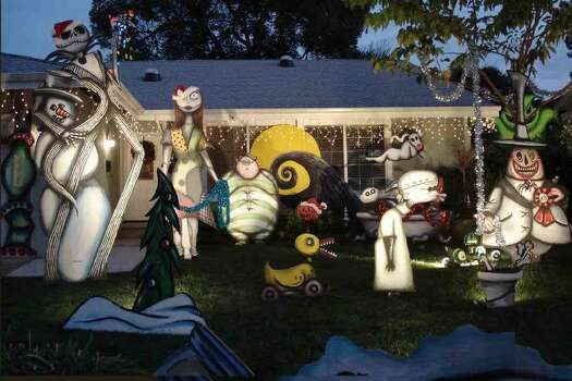 been decorating for several years with the Nightmare Before Christmas ...
