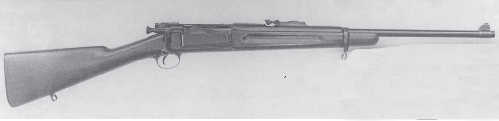 The last Krag variant - the NRA-DCM 22-inch barreled carbine, which turned out to be an ideal size for hunters.