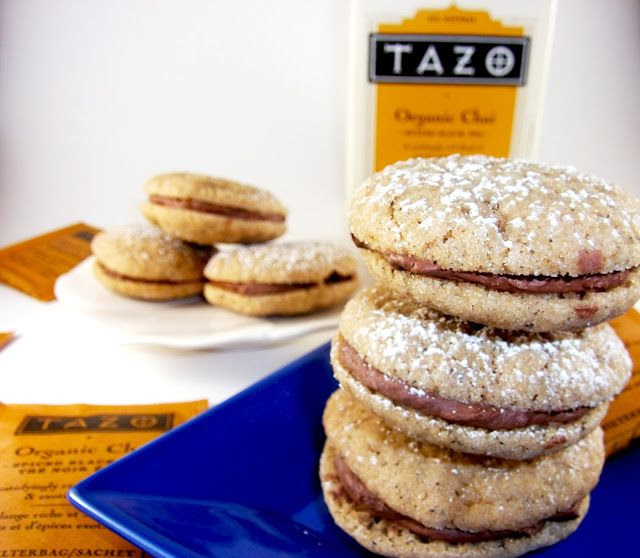 Dirty Chai Cookies