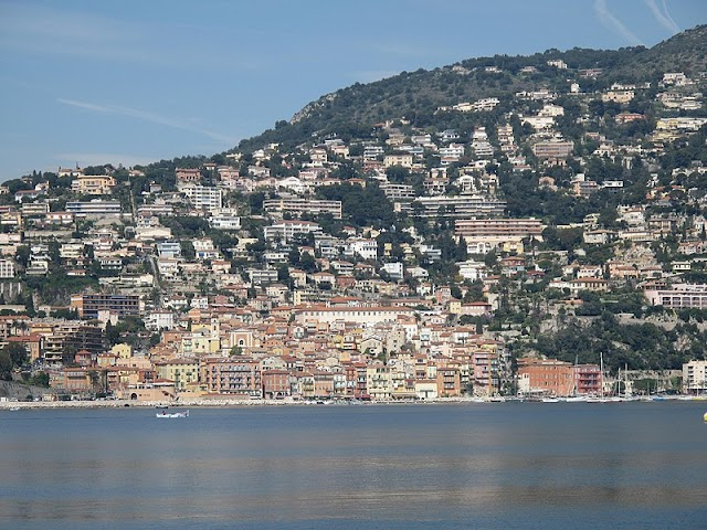 A little town in the French Riviera