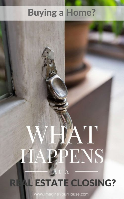 Buying a Home - What Happens at a Real Estate Home Closing ...