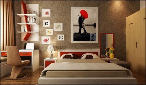 desain kamar tidur utama 4x5
