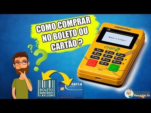 COMO COMPRAR MAQUINA MINIZINHA CHIP 2 NO BOLETO OU CARTÃO ? ( Minizinha ...