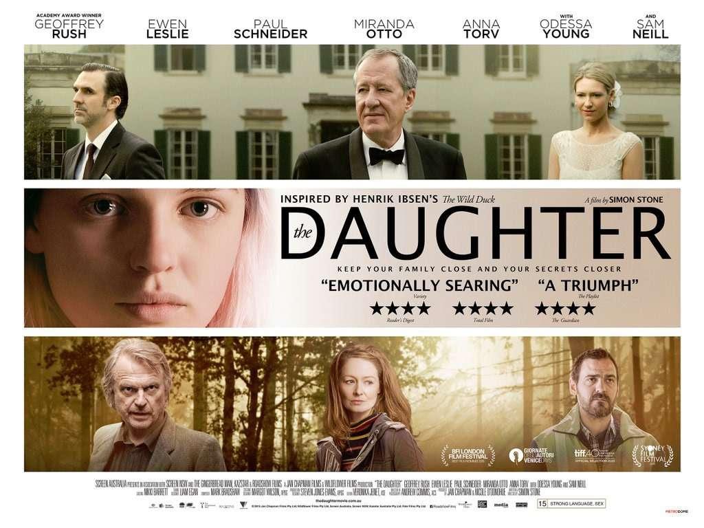 Η κόρη (The Daughter) Quad Poster Πόστερ