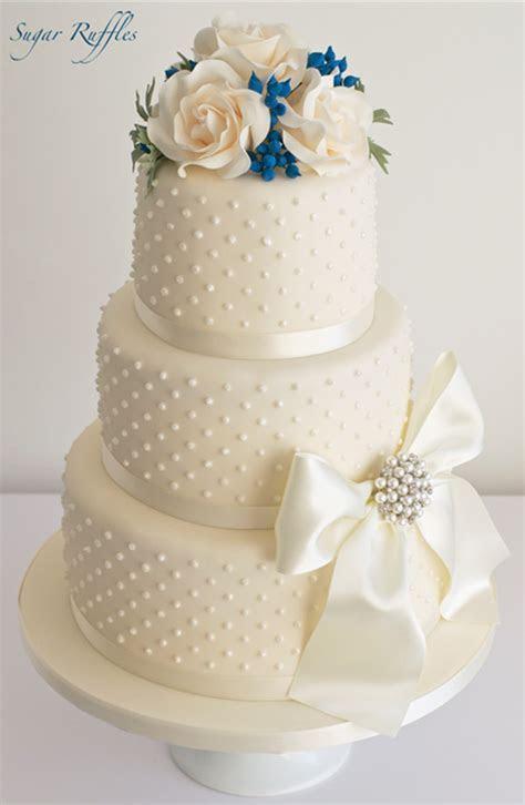 20  Wedding Cake Ideas from Sugar Ruffles