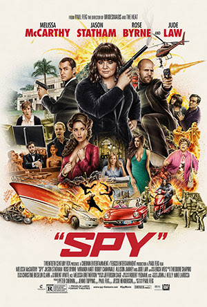 凸務MADAM/麻辣賤諜(SPY)poster