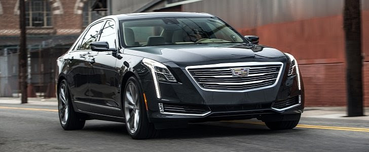 Cadillac CT6 Updated for 2017 MY, Twin-Turbo LT5 V8 ...