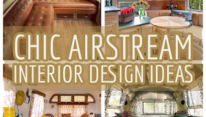 30 Chic Airstream Interior Pattern Ideas You Lot Convey To Know