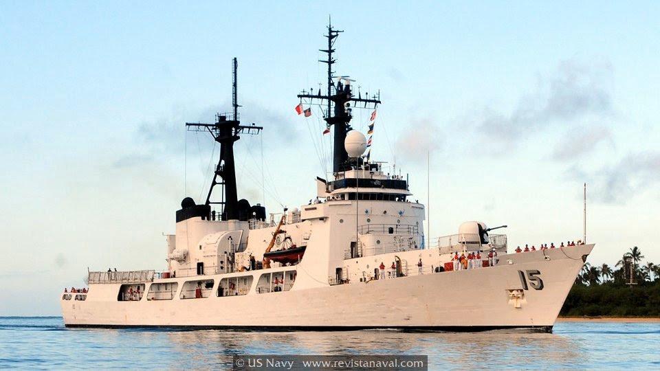 BRP «Gregorio del Pilar» PF-15. El antiguo cutter guardacostas USCGC «Hamilton» se convirtió en 2011 en el buque más importante de la flota filipina (Foto: US Navy)
