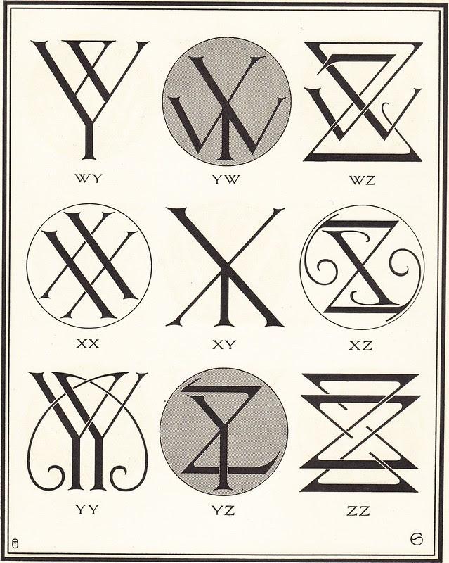 Monograms & Ciphers by AA Turbayne 1912 k