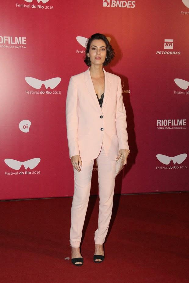 Isabel Wilker participa do festival de cinema do Rio (Foto: Wallace Barbosa / AgNews)