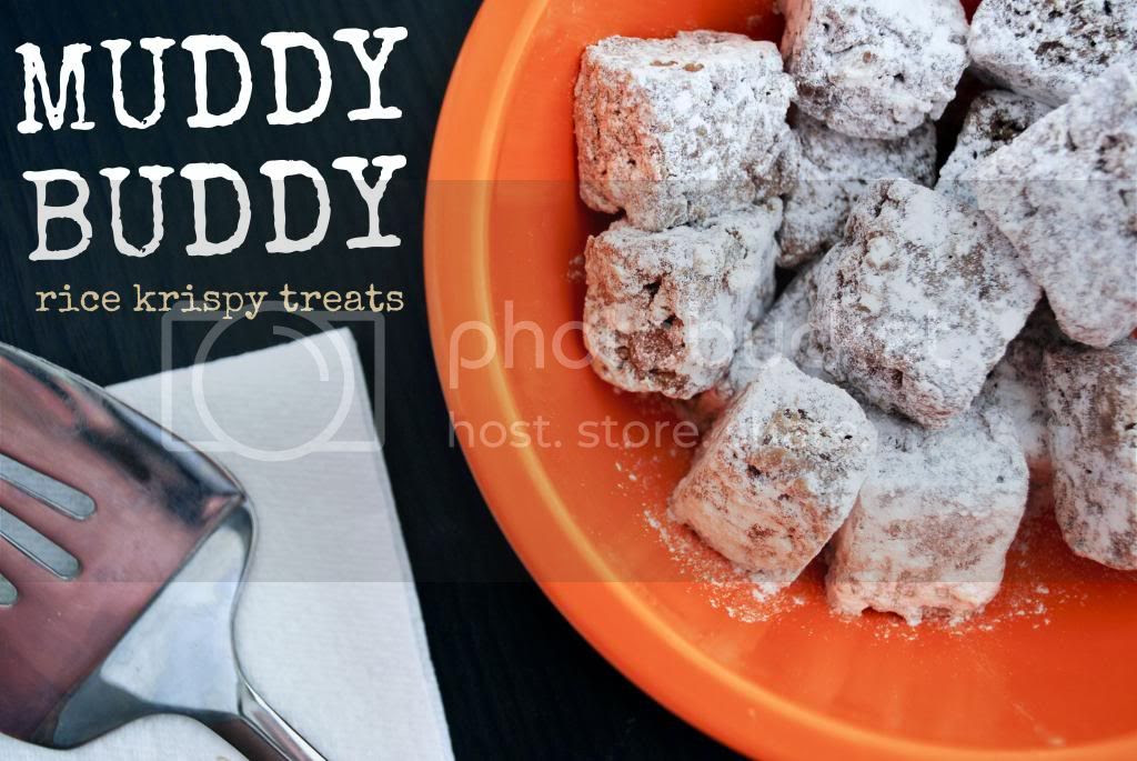Mallow and Co: Muddy Buddy Rice Krispy Treats