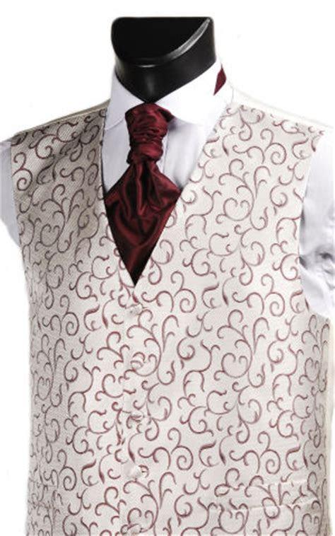 Wine Swirl Pattern Wedding Waistcoat   Wedding Waistcoat