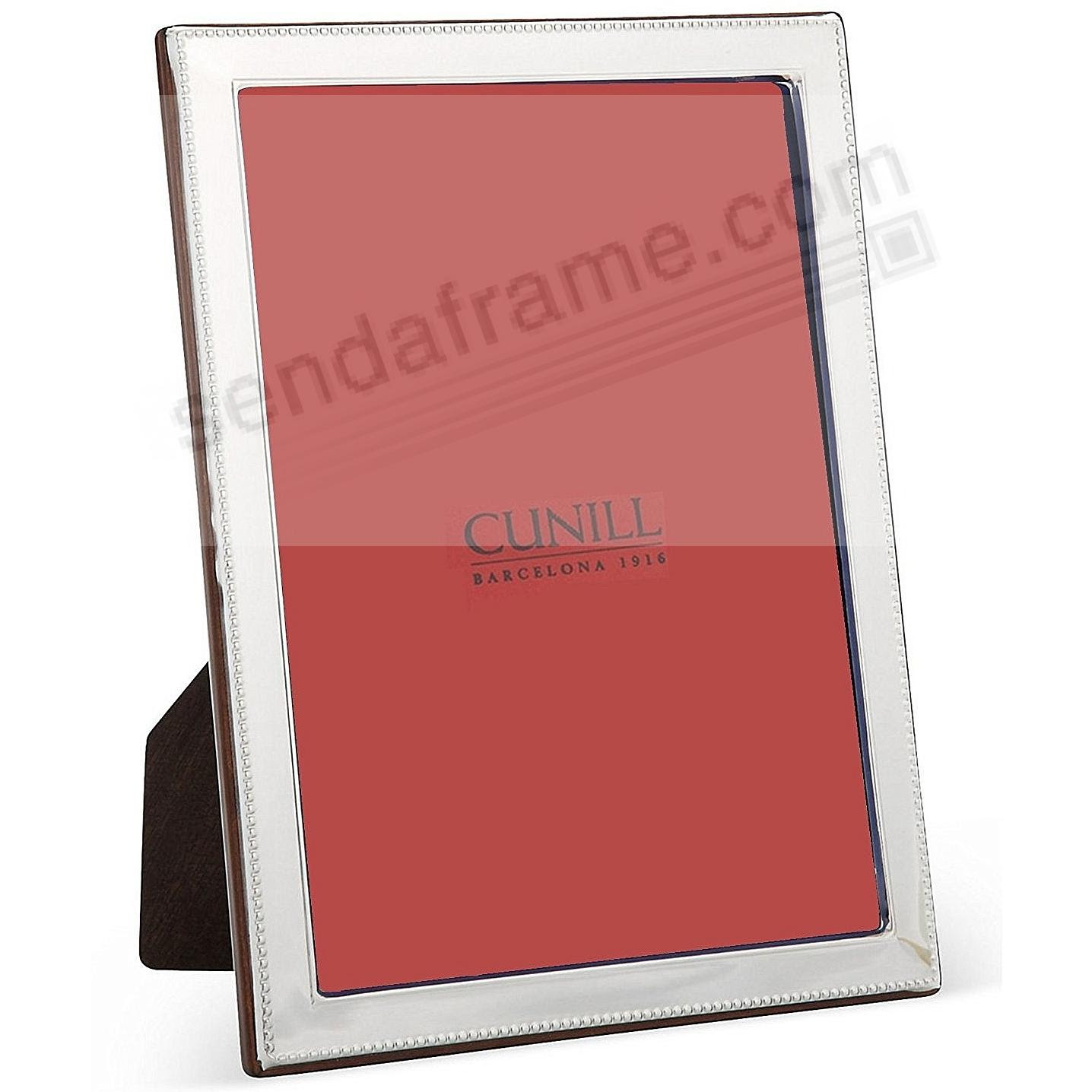 Bead Bevel Fine Sterling Silver 8x107x9 Frame By Cunill Picture