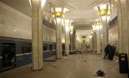 Woman suicide bomber kills at least 13 at Russian station
