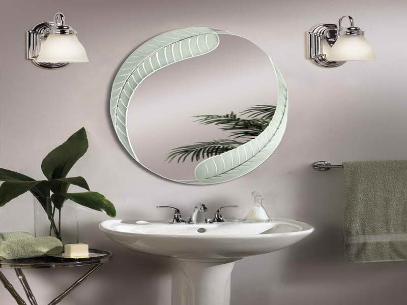 Oval Bathroom Mirrors Brushed Nickel A Creative Mom