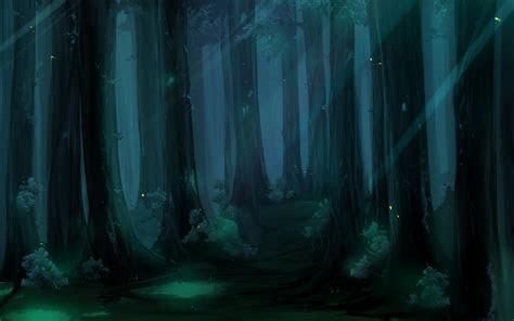 anime forest background wallpapersafari